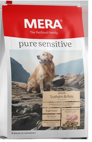Pure Sensitive Senior Kalkoen & Rijst