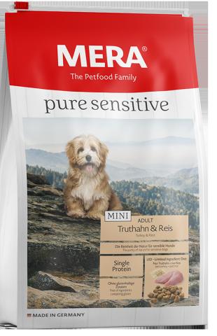 Pure Sensitive Mini Kalkoen & Rijst