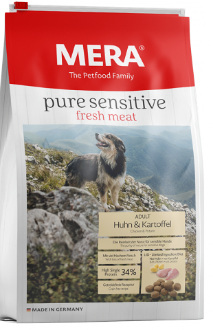 Pure Sensitive fresh meat - High single Protein -  kip & aardappel