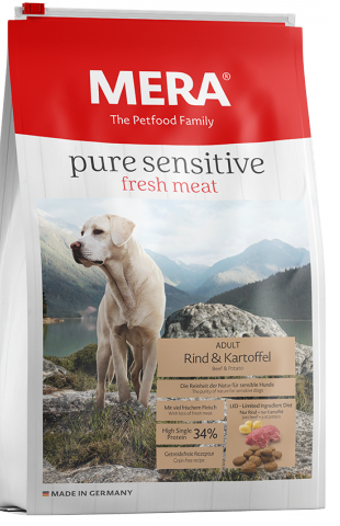 Pure Sensitive fresh meat - High single Protein - Rund & Aardappel
