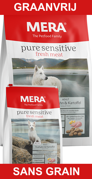 MERA Pure Sensitive Fresh Meat Graanvrij